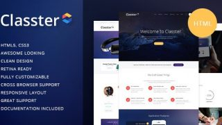 Classter v1.1 – Multi-Purpose HTML Theme