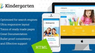 Kindergarten v1.1 – Children HTML Theme