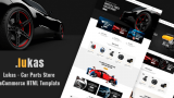 Lukas v1.0 – Car Parts Store eCommerce HTML Template